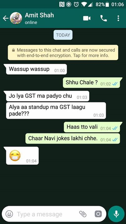 Being Candid! #GST #WhatsappDiary