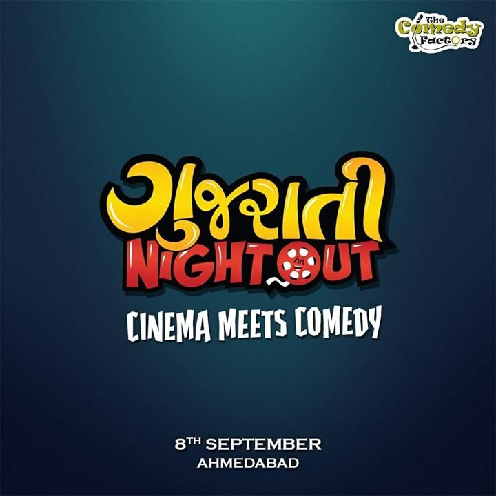 Something interesting coming your way. Mark the date. Tickets will be out tonight.  #GujaratiCinema #Comedy