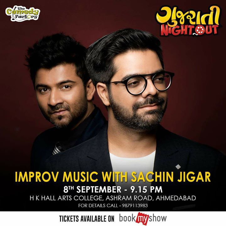 My friends Sachin Jigar ... It is a priviledged and an honor to have you for our event.   Get ur tickets here - https://goo.gl/wFAfpB