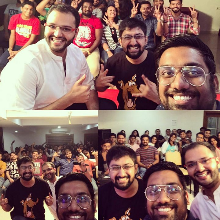 Last night was so much fun with The Comedy Jams in Jamnagar. #JaiComedy