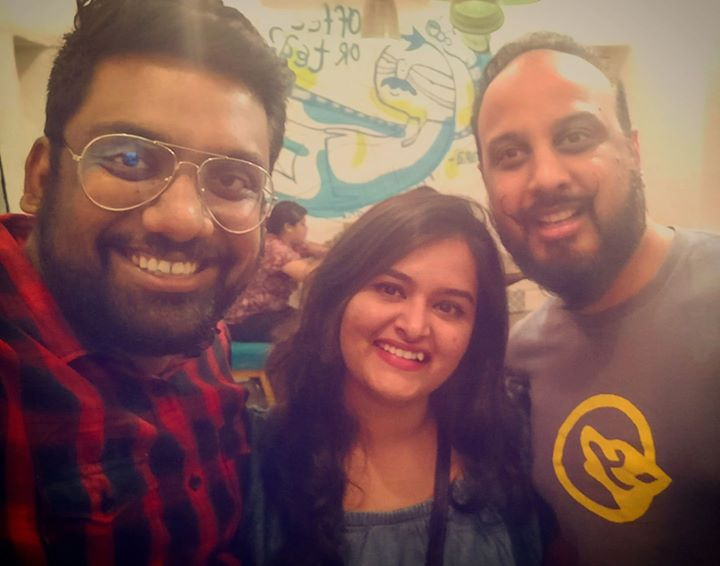 Amazing how we turned out to be fan of each other's work. Good day for Artists like us. With BANDISH PROJEKT Aishwarya. The Creators of Dakla and many other amazing tracks.  #bandishprojekt #TheComedyFactory
