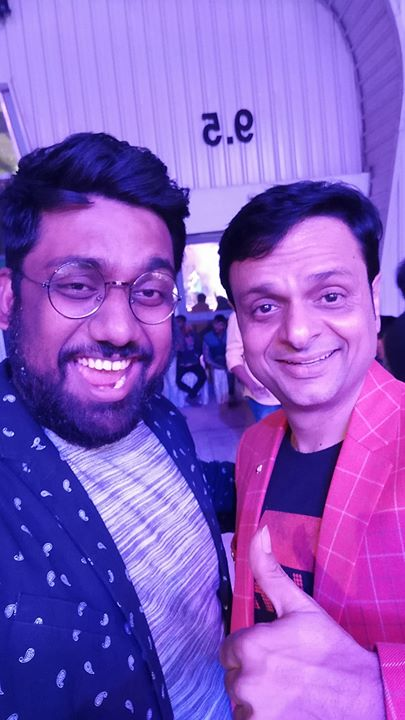 Thank you Devang Patel for giving me an opportunity to share the stage with you. It is not everyday that you get to perform with your childhood hero.