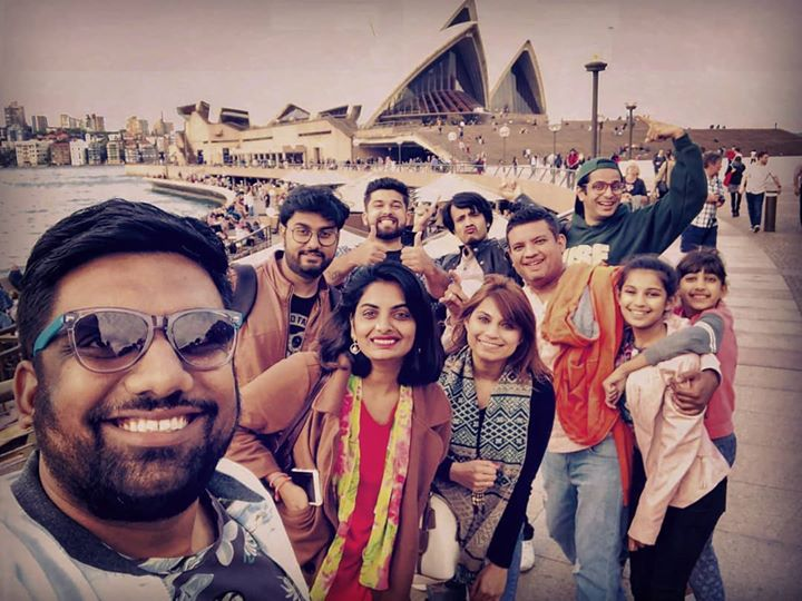 Thank you to the Parikh Family for being such wonderful hosts for the insane comedy troupe. Still can't get over the fact how amazing this trip was.   P.S - USA tour kicks off next month. Dates will be up soon.   #TheComedyFactory #AustraliaTour