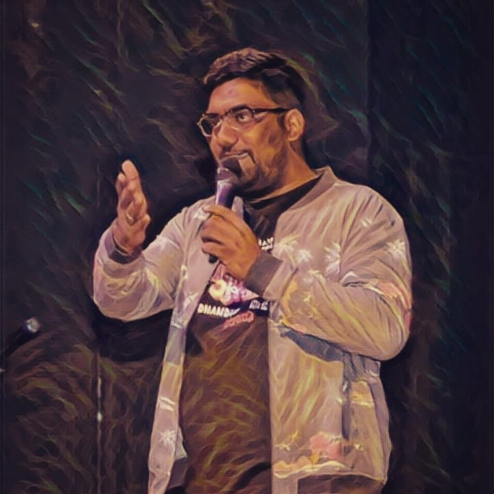 On Fire. On Stage.  #StandUpComedy