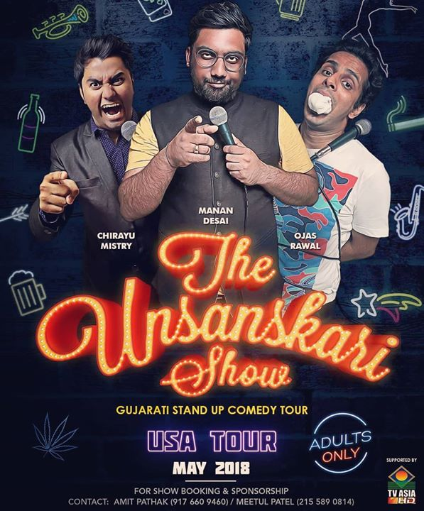 One of my favorite posters !!! We are doing this show is selected cities for our USA tour. Check www.thecomedyfactory.in for the details. There are couple of dates which you can grab to do shows in your city. Do call the number given at the bottom of the poster for further information. #TheComedyFactory #USAtour