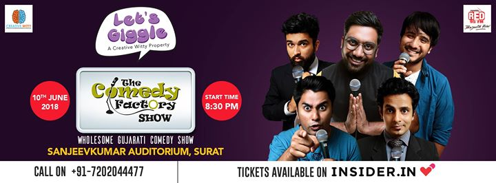 SURAT on 10th June. Tag all Surti Gujaratis.  Tickets --->> https://goo.gl/2xRq3o