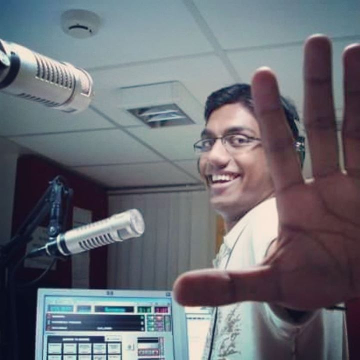 Here's me 11 years ago. Born in the entertainment industry as a Radio Jockey!! I've gained a lot, physically and mentally, in these 11 years.  Radio is a theatre of mind they say. Comedy is a theatre of soul for me. Thank you to Radio and everyone associated with me in that industry during the prime of my growth as an entertainer.   I was in Radio for 7 years. I am doing comedy for 7 years now. I guess both are equally lucky for me.  #RadioJockey #RadioLife #RadioMirchi #Journey #7years #Comedy