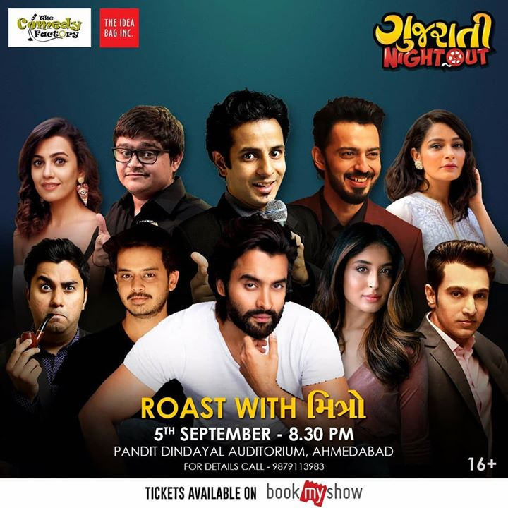 Mad Line Up !!! Madness Guaranteed.  Tickets available at the venue or you can book them online through the link in my BIO.  #thecomedyfactory #GujaratiNightOut