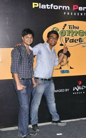 The first time we performed in Ahmedabad was 6 years ago. Thanks to Vipul Goyal for always being there. He's also going to be there for our Jamanagar show with our friends The Comedy Jams - Few seats left. Do yourself a favor and get some big bursts of laughter in this pre Diwali show. Don't miss it.  #VipulGoyal #thecomedyfactory #comedyjams