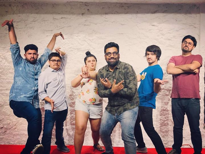 Spontaneously Combusted. Whatta an Improv show! It was an epic night. Special thanks to @jahnavidave   #thecomedyfactory #improvcomedy
