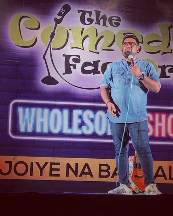Last night was Epic Fun at the @amdavadcarnival where we launched our brand new show.   #thecomedyfactory