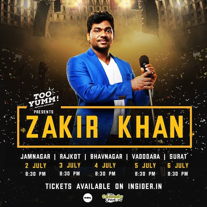 @zakirkhan_208 Gujarat Tour 2019. More cities to be added later this year. Don't miss this.