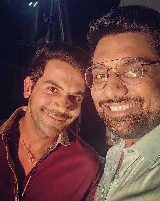 #TBT I was lucky to have my bollywood debut sharing the screenspace with @rajkummar_rao - Great Human and treated new Bollywood talents like me so well on the sets.   #MadeInChina