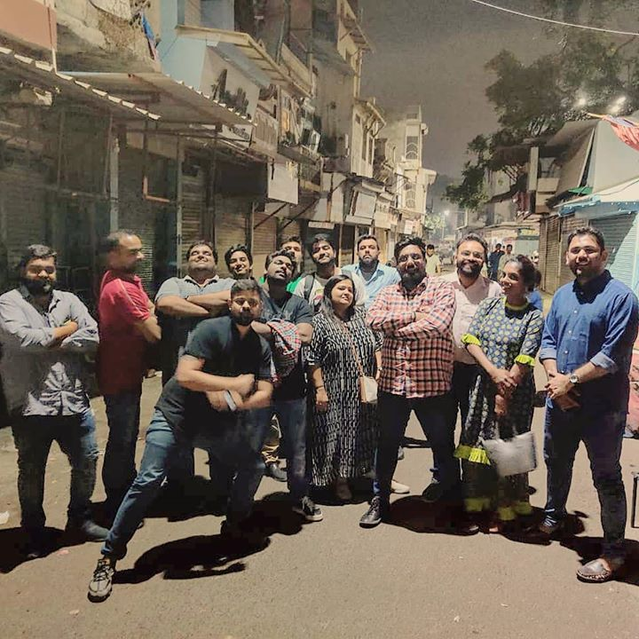 Whatta night it was when you spend it with people from different fields sharing the same school of thought for entertaining the audience. Such like-mindedness is rare.   We came, Nobody Saw & We Conquered. Manekchowk. And a lot more in future.   #zakirkhan #Hellaro #weekendwindow #foodaholicsinahmedabad