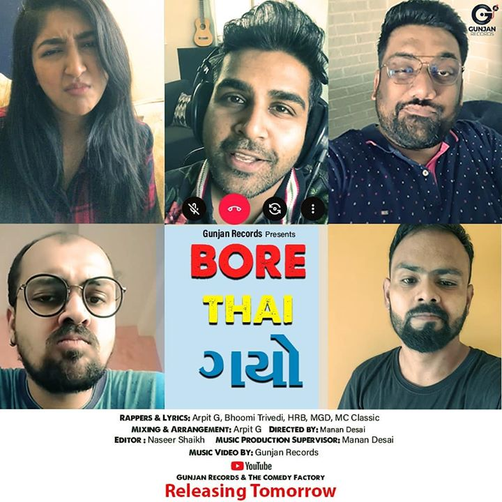 This was so much fun with @arpitg @bhoomitrivediofficial @mc_classic_23 @hem_bhatia - Joyu ke nai ?? Joyu tto share karyu ke nai ???  #BoreThaiGayo