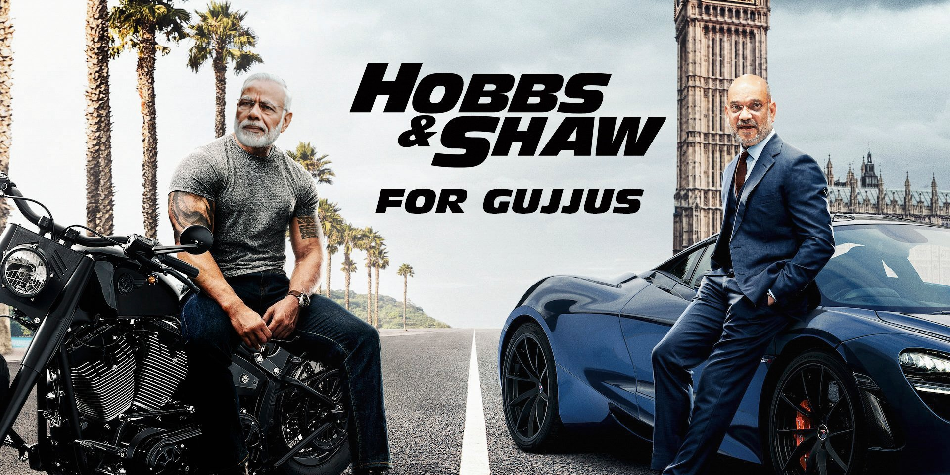 Manan Desai & his Alter Ego watched Hobbs & Shaw, and they are back with another Gujju Review!