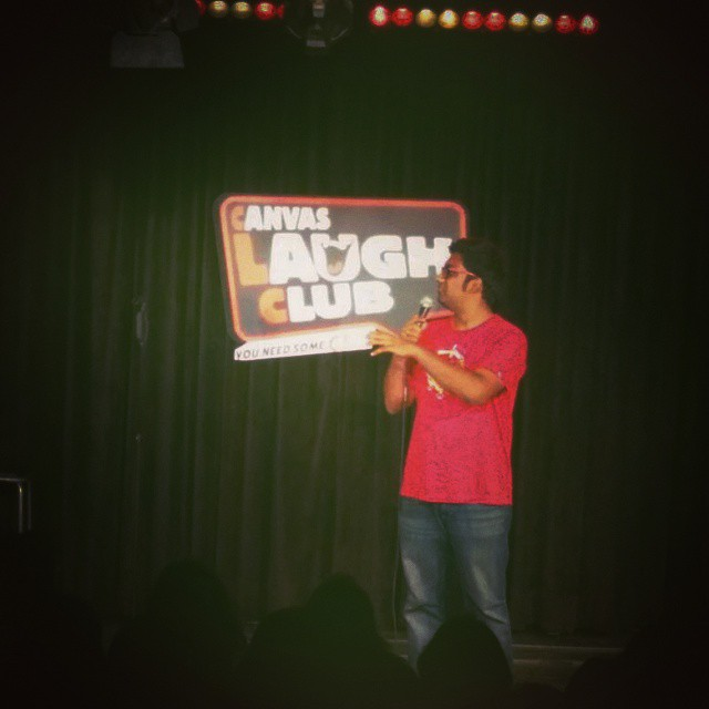 Good fun @ Canvas Laugh Club, Mumbai. Will be performing again @ The Rising Comedy Stars on 23rd June. Aa jaao!
