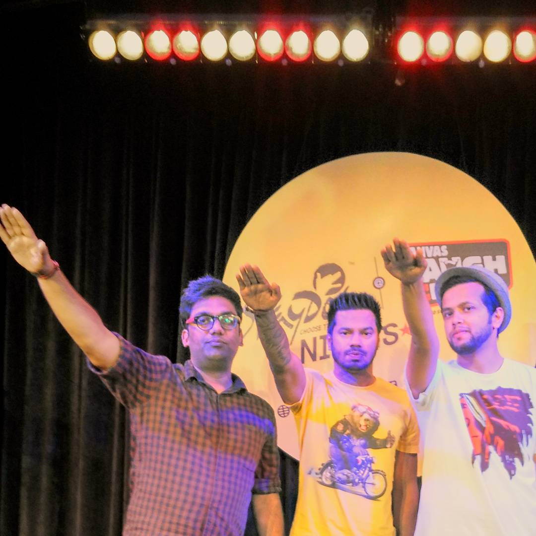 Hail Comedy! Today & Tomorrow at this amazing place called Canvas Laugh Club in Mumbai. With these two amazing comedians performing live. My first comedy week at Canvas. Mumbai waale doston - Aa jaao!