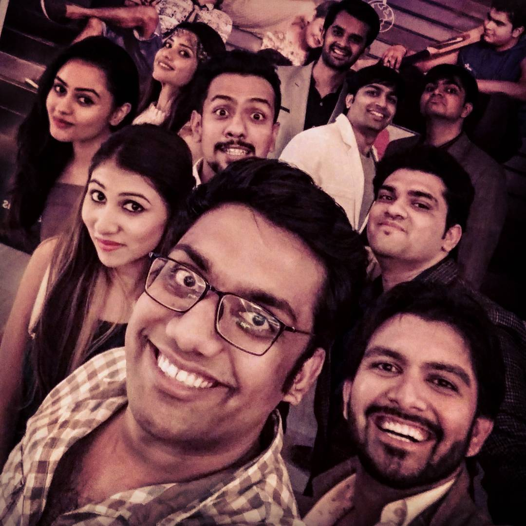 Chhello Divas Shenanigans! Such a great time last night at Baroda premiere shows! Congratulations to the entire team for the grand success of Chhello Divas! #gujarati #movie #gujju