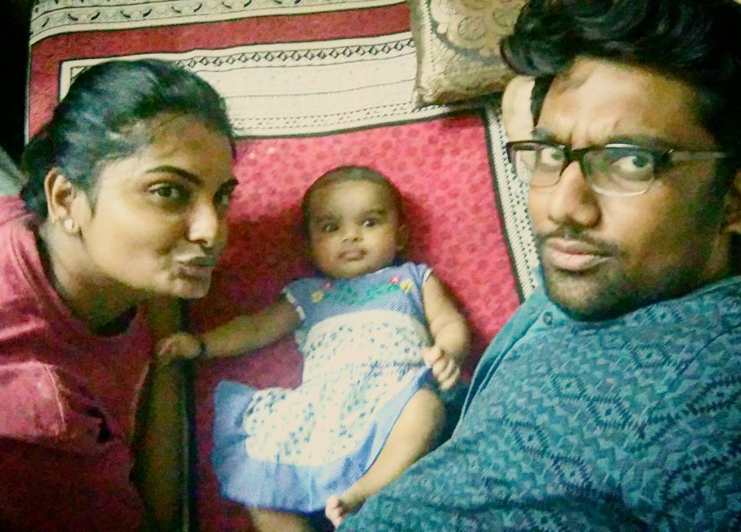 Our First Selfie! Girl Pout, Guy Pout & Baby Pout. Family that pouts together stays together. #modern #parenting #gottaresisttechnology