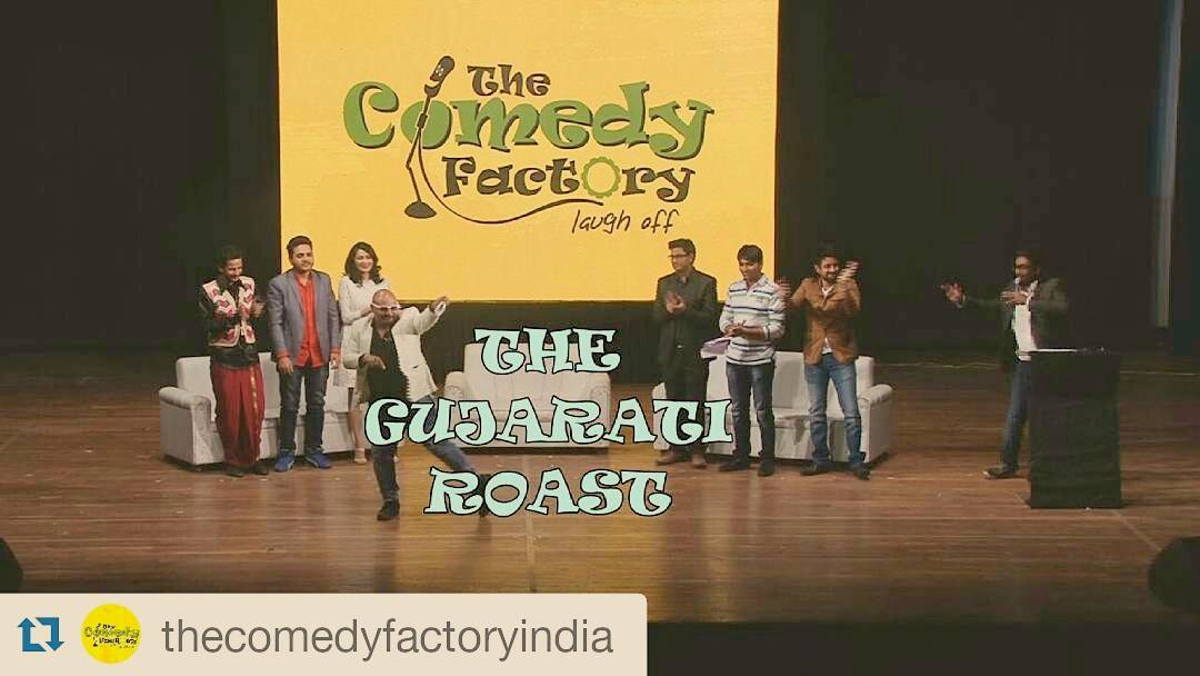 Don't miss our brand new video! The first ever Gujarati Roast. Subscribe and stay tuned to our YouTube channel. #roast #gujarati #liveshow