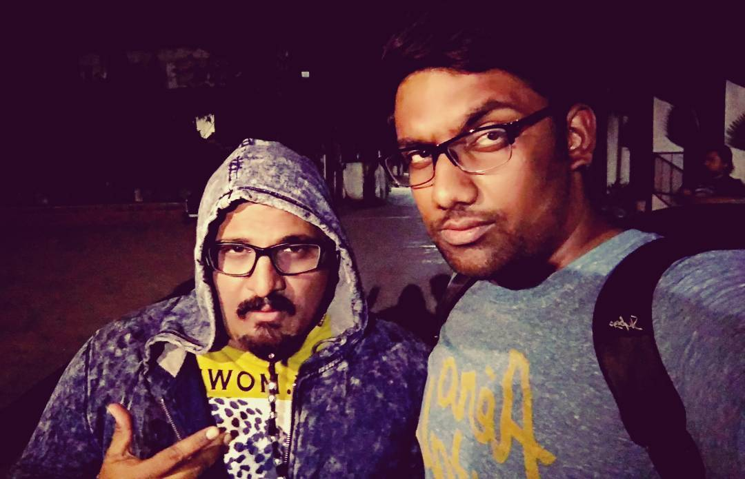 Probably the coolest dude I've met. @arvind_vegda Thank you so much for being part of @thecomedyfactoryindia 's video. Releases tomorrow at 10 AM. GUJARAT DIVAS! #GujjuFunk #tcf #parody