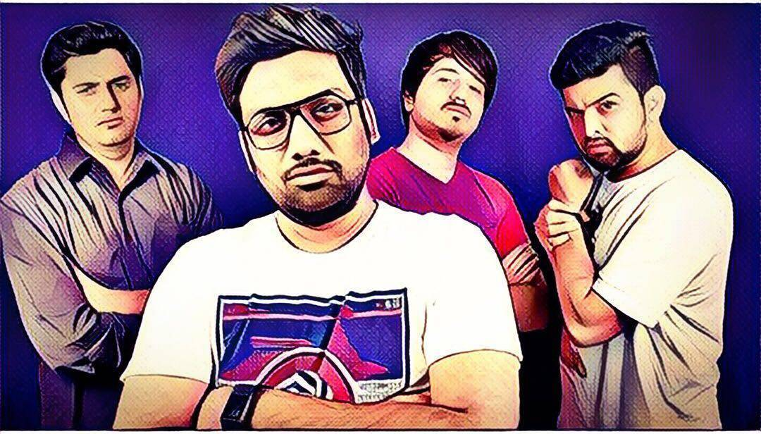 My Bwoys! Willing to anything for these 3. @aarizsaiyed @nautankideep @chirayu_m @thecomedyfactoryindia  #colleguesforlife
