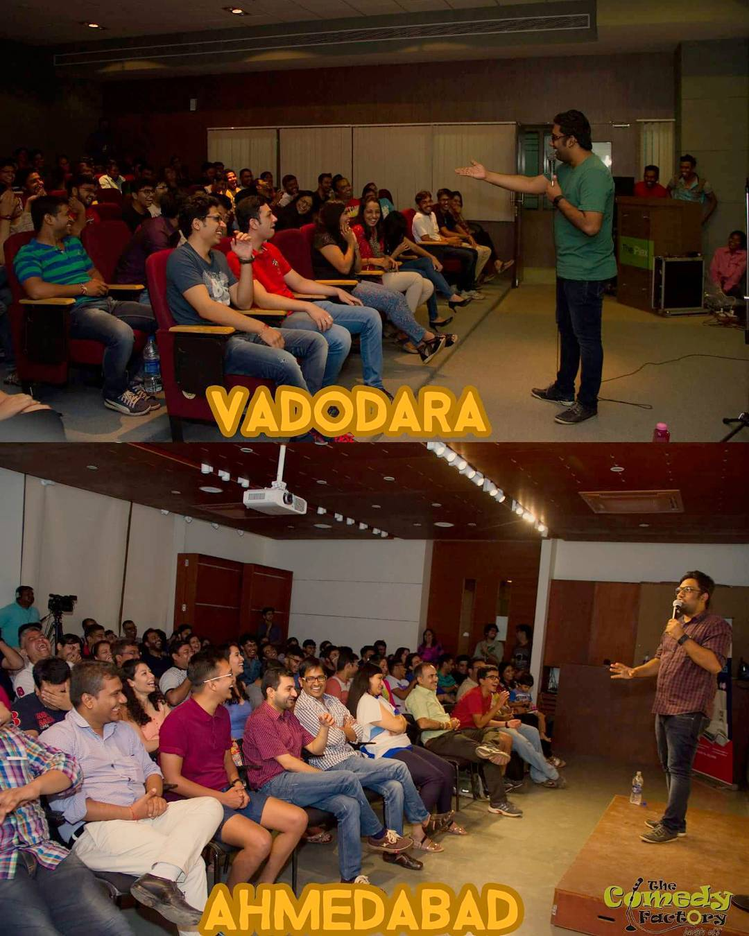 A Shuddh Gujarati - Did my first solo special in Baroda and Ahmedabad for a SOLD OUT audience. Best 2 shows of my life. Great start for @gujaratcomedyfestival - Thank you all for supporting and being my true strength. We have come a long way in this beautiful relationship bridged by truth and comedy. #standupcomedy #live #special #baroda #ahmedabad #gcf2k16