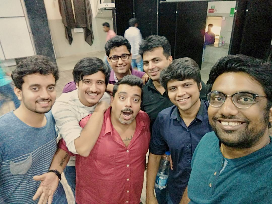 And it's a wrap for The Hinglish Show @ Gujarat Comedy Festival. What an amazing run. Don't miss The Angreji Show next week. Tickets on Book My Show. #gcf2k16