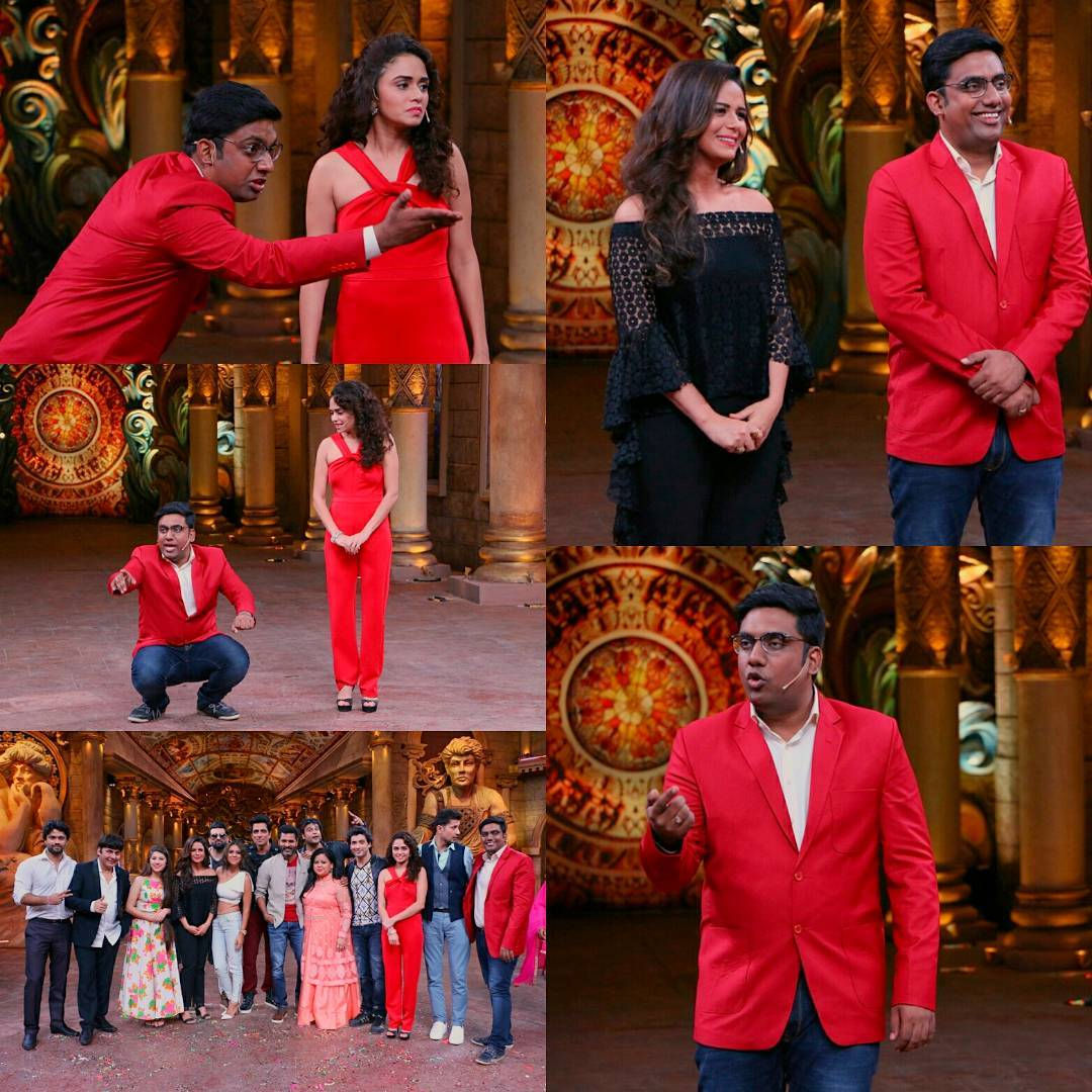 Comedy Nights Bachao Taaza premieres this Sunday with the star cast of Tutak Tutak Tutiya. @bachao_comedy_nights every Sunday at 10 PM on @colorstv - It is a privilege and an honour to be part of such a veteran team. #cnb #roast #prabhudeva #sonusood #colorstv