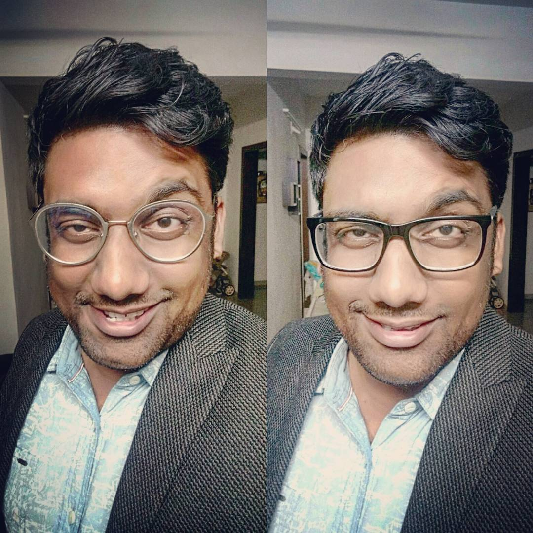Got my new frames. Which one do you like more?? The Funky Silver or The Smart Black?? Lexus optics on Jetalpur Road. Never disappoints. Great collection for anyone who has frame fetish.  #spectacles #frames #chashme #funky #cool #new