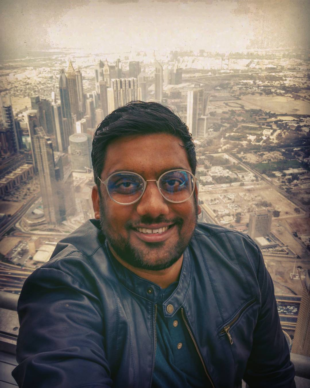 No less than a Poster. 124th floor. #burjkhalifa