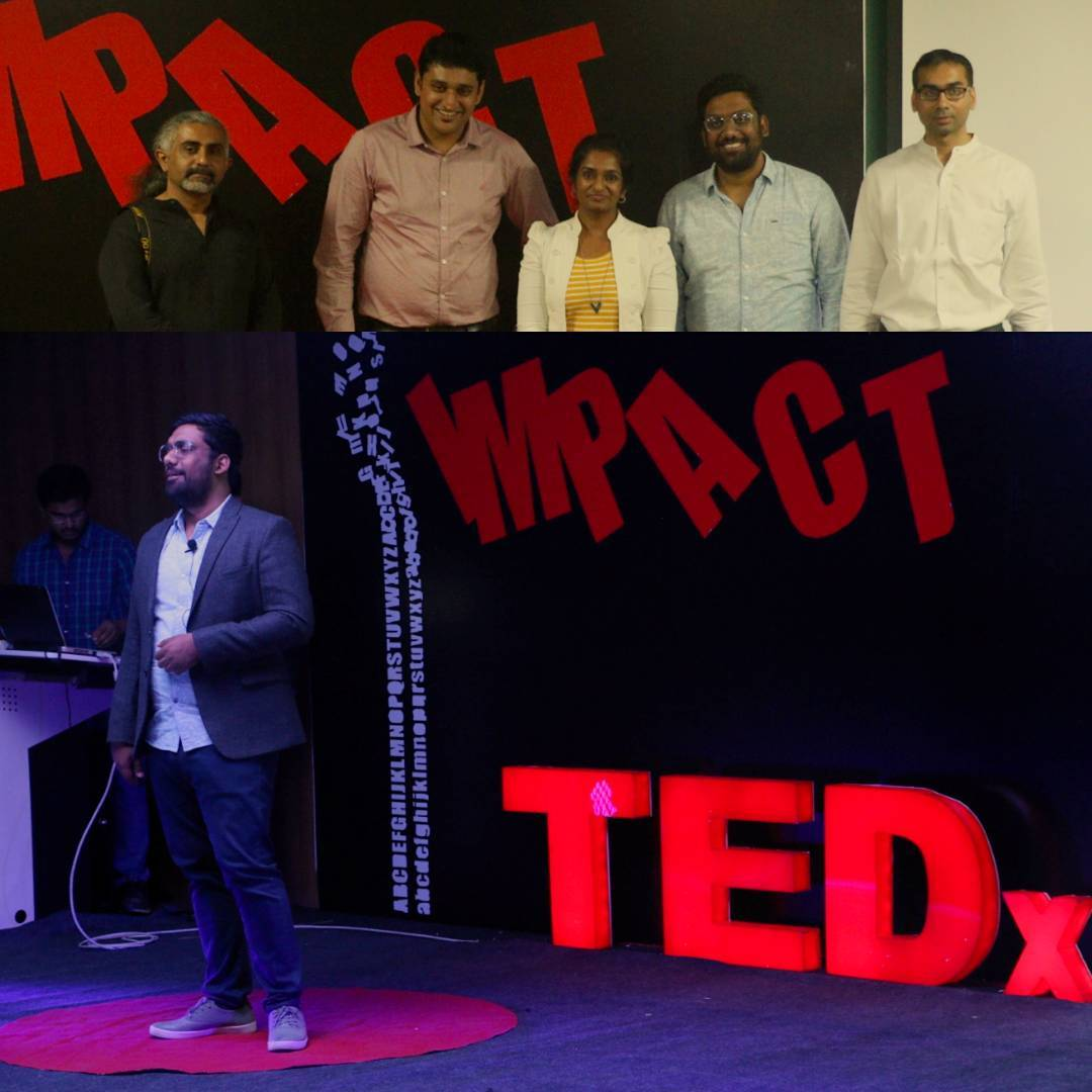 Did a Tedx couple of weeks back for IIT Indore. Was fun to not do Comedy and talk about the Impact of time on my life. #betterluckthistime