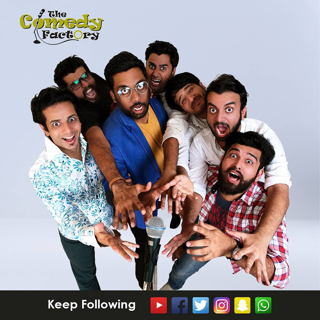 The amazing @thecomedyfactoryindia  #troupe #team #family