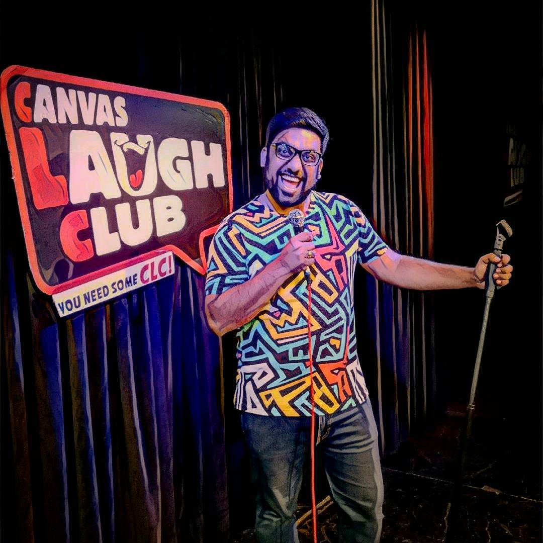 Amazing week at the Canvas Laugh Club. 5 days, 6 Shows & 1 Special. New stand up video coming out this week.  But what are your plans this week? I've some great stories to share in the form of stand up comedy. Don't miss Ashudh Gujarati in Gujarat this week. Tickets Link in Bio. #StandUpComedy