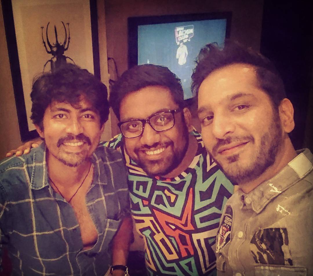 What an amazing week with @evamkarthik & @thenitinmirani at Canvas Laugh Club, Mumbai. Iam missing all the backstage madness. #StandUpComedy  What are your plans this week ? Do come and watch my Gujlish Stand up comedy special. For Tickets and details do check my bio.