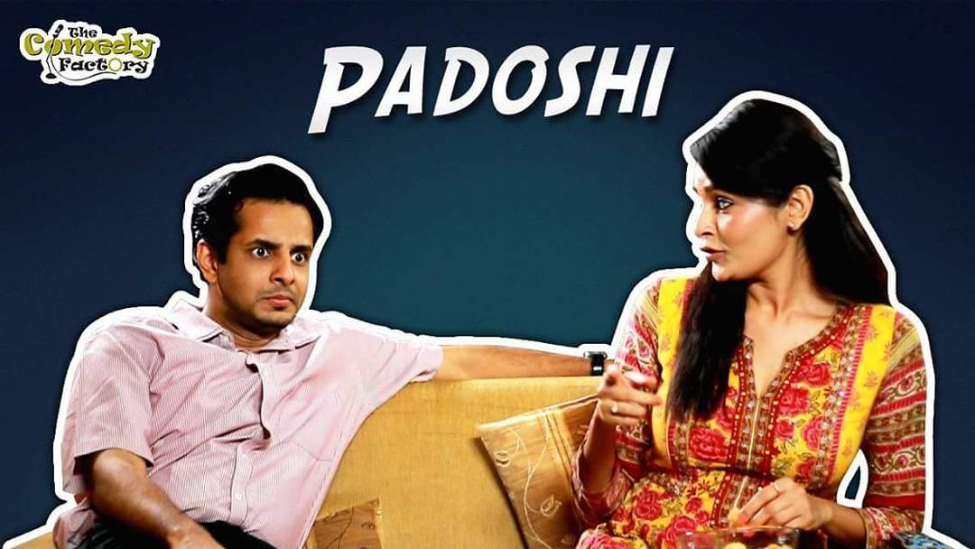 Direction by Yours Truly.  Releasing tonight at 9 PM.  @thecomedyfactoryindia  #Padoshi
