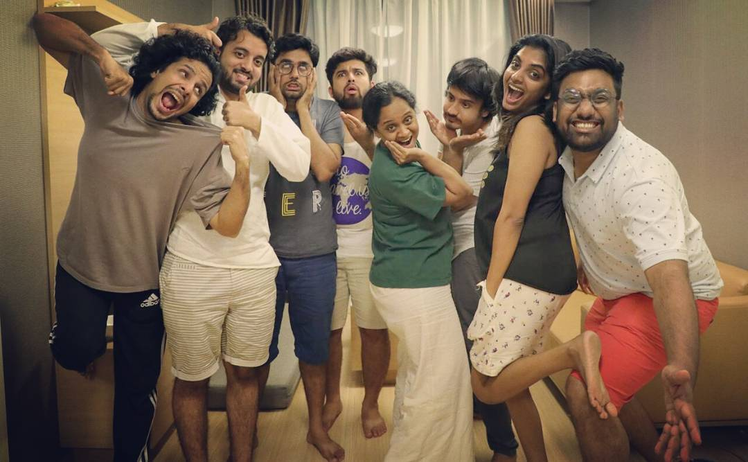 The Big Comedy Family. Epic Night out. @thecomedyfactoryindia  #TCFinThailand #Holiday