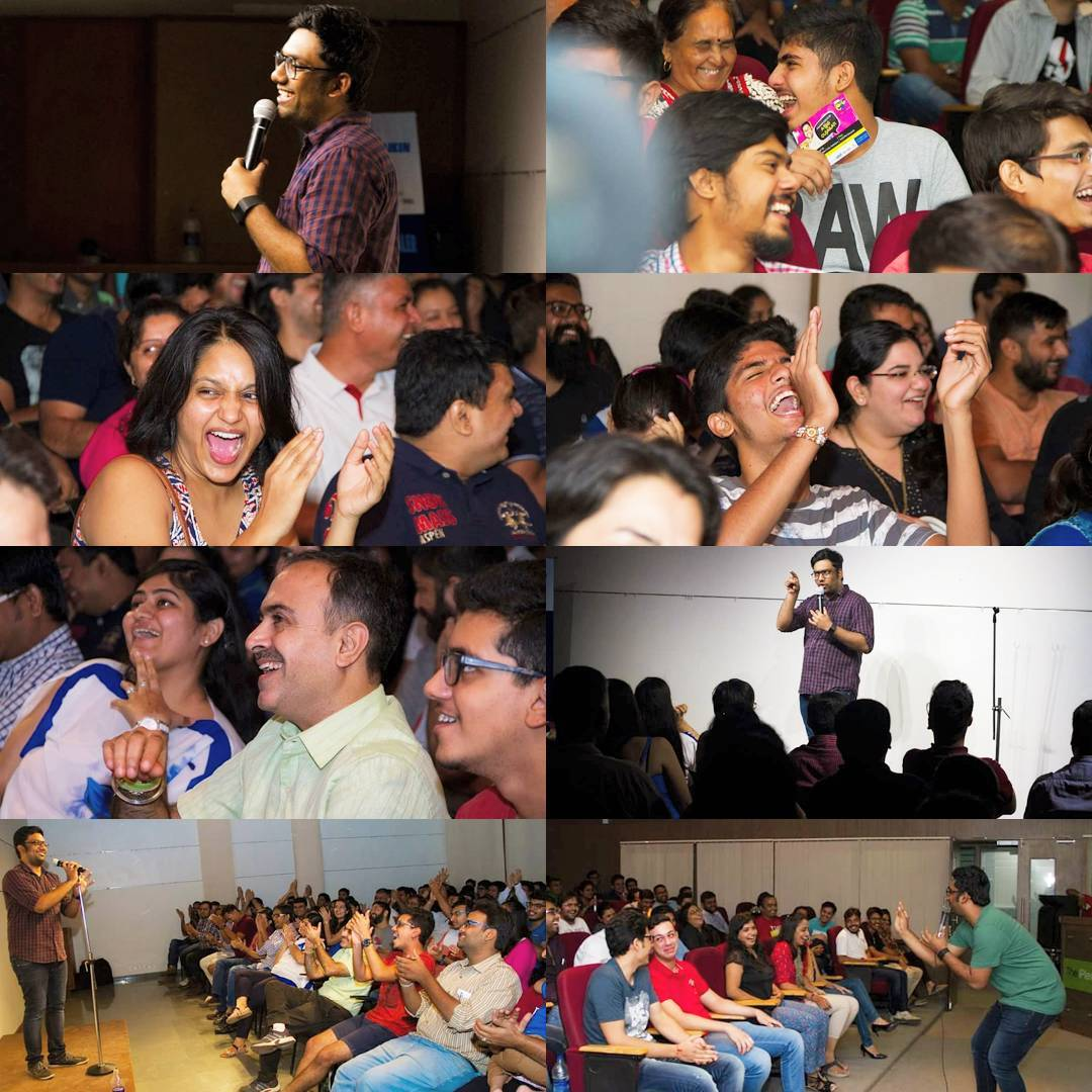I still remember the first time I had done Ashudh Gujarati more than a year ago on 26th August 2016. It was in Baroda and Ahmedabad for a limited audience.  I was anxious and panicking at the same time. It was first time I was performing for more than an hour for a ticketed show. And all these beautiful people had come to watch me with expectations that too for a Gujarati comedy show. This was the most fun I had doing Ashudh Gujarati. Though the show has evolved much more after these debut shows and I was most satisfied with the last shows I did in June from which you're able to see the videos online at the moment.  My comedy life has always been in a constant turmoil because I've to manage life between producing comedy and performing comedy. Both the things might look similar but they are poles apart. Nonetheless I've decided this year to really focus on my craft. Be more on stage performing and not just managing. Thank you for being with me and our team which has made us thrive constantly.  New Video coming out tomorrow.  #AshudhGujarati #StandUpComedy #Gujarati