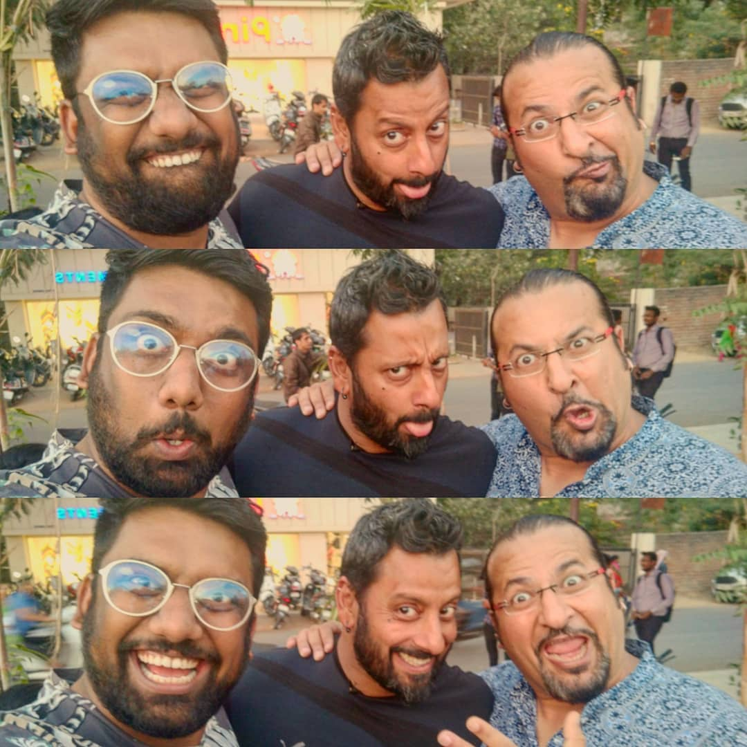 Whatta Mad Duo these guys are !! The reason why I've added a few pounds in last few years. So glad to be featured on their show. More details will come out soon.  @rockyandmayur