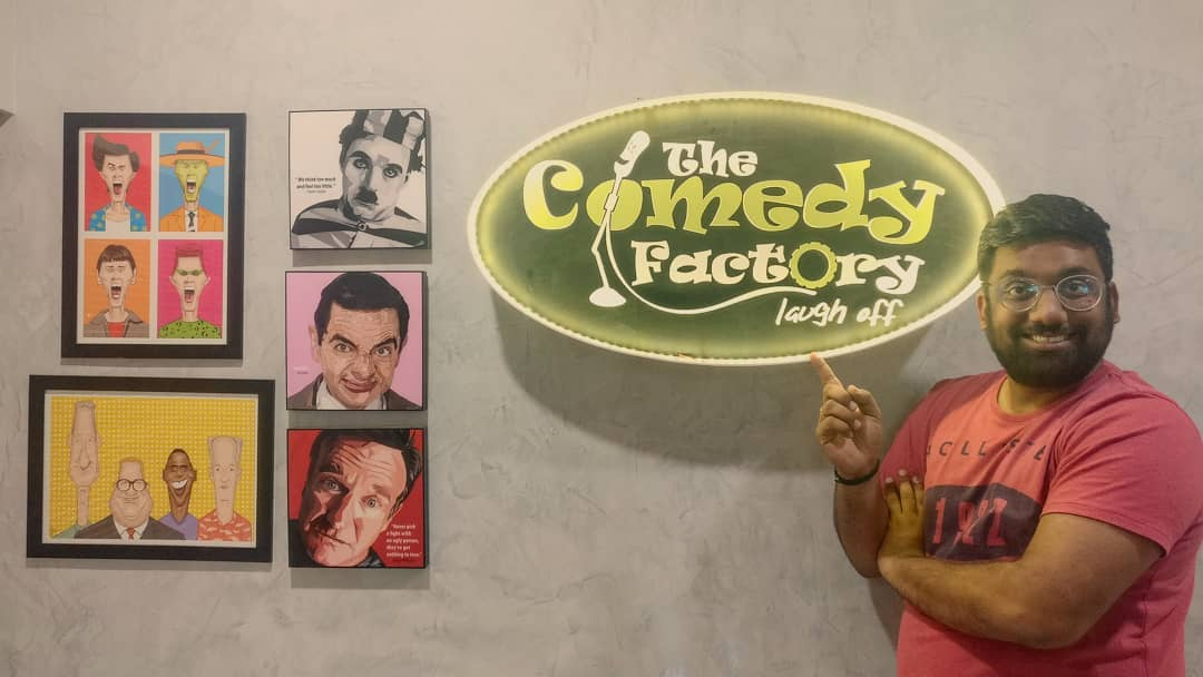 Manan Desai,  Workplace, TheComedyFactory