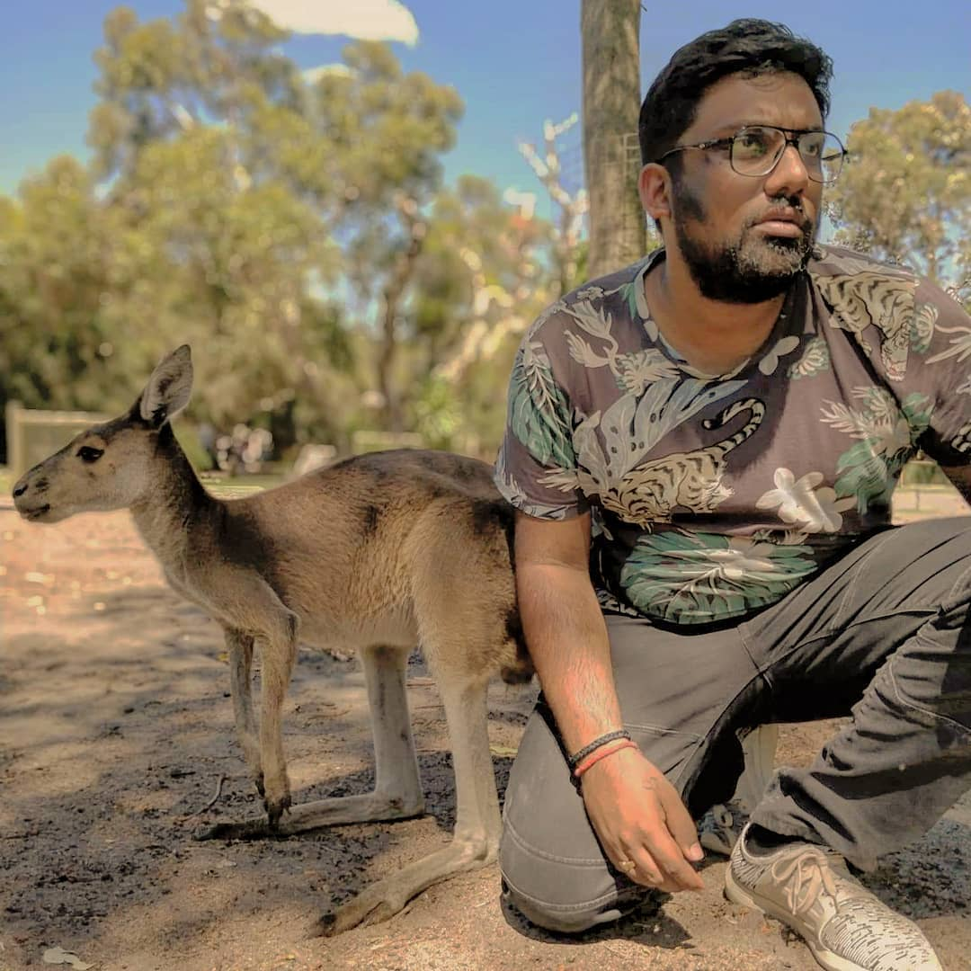 Releasing my new single.. From the Ghetto Streets of Tarsali.. Taari Maano Kangaroo!! Album Art by @aarizsaiyed