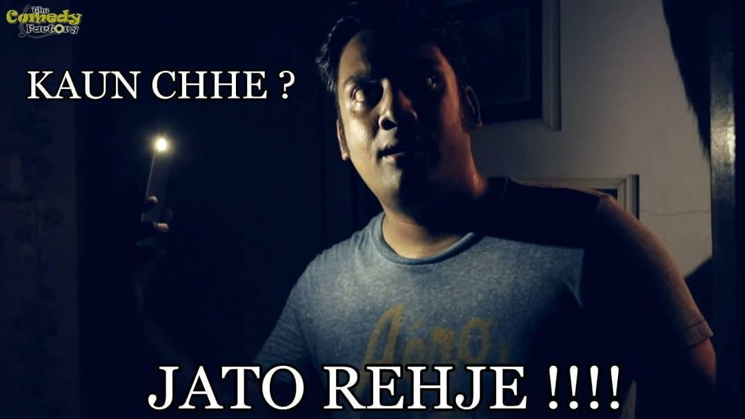 This was the first time I used the term 'Jati Rehje' for the video Conjuring for Gujjus. Which later on was adopted by Gujjus all over.. Still can't believe a simple expression can be so impactful.  I still remember using these kinda terms casually with @urbane_banjara during my Radio Days and Montu's impecebble comic timing and partnership has really helped me in the initial years of venturing into comedy. Thanks Bud.  #TheComedyFactory #M&M