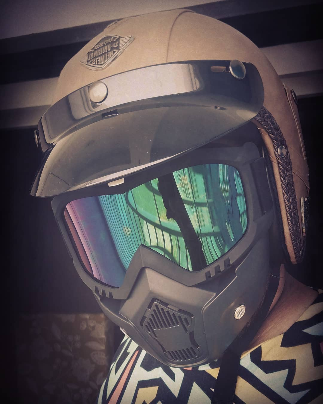Loving my new Helmet Gear !!! Safety with coolness comes first.  #SastaBhaveshJoshi