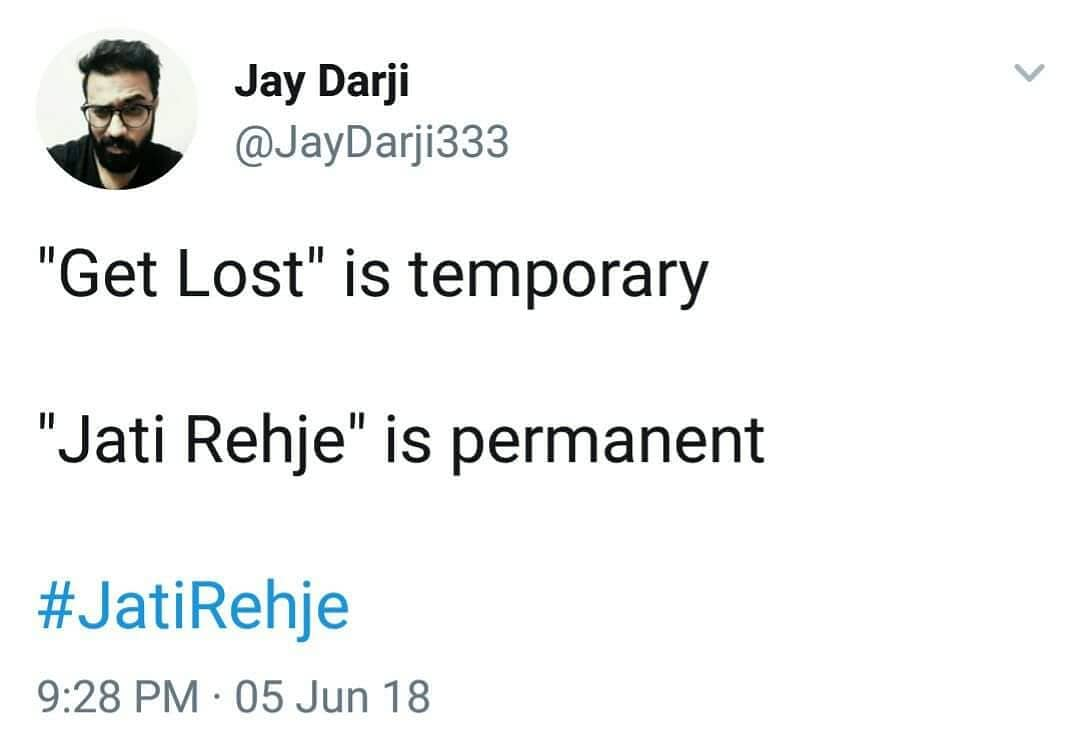 2 years of Jati Rehje. Follow @jatirehje NOW! Lot of interesting stuff is going to happen on that page.  Thanks @garvigujarati @jaydarji3  Eid Mubabarak to All.  #Jatirehje #thecomedyfactory