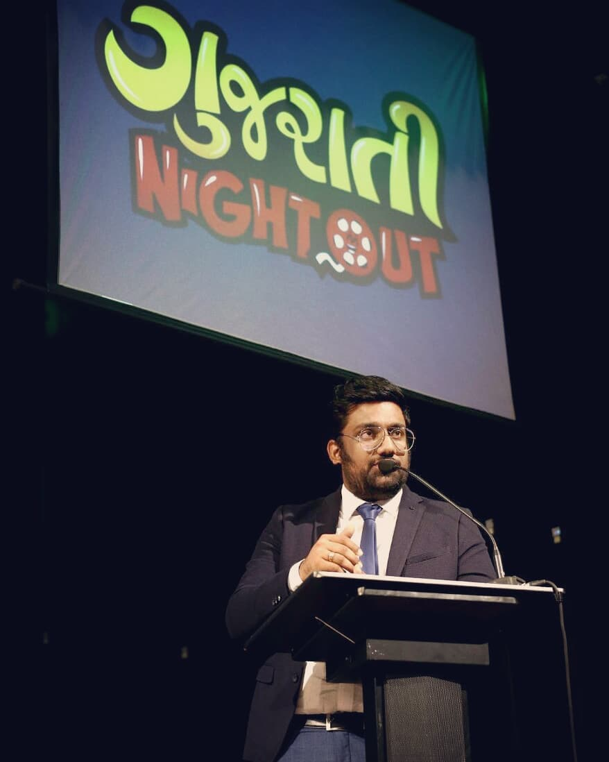 Gujarati Night Out 2018. Announcing Soon.  #GujaratiCinema #NightOut #TheComedyFactory #Roast #ImprovComedy #MusicalComedy #StandUpComedy