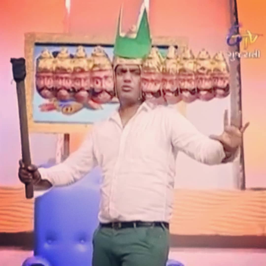 Happy Dussehra!! I hope I give you more laughs this year and keep you away from evils in your life.  31 years of this Raavan walking on the face of the Earth. Hoping for a few more decades. Thank you for all your support to make me reach newer benchmarks with each passing year.  #happydussehra #HappyBirthday