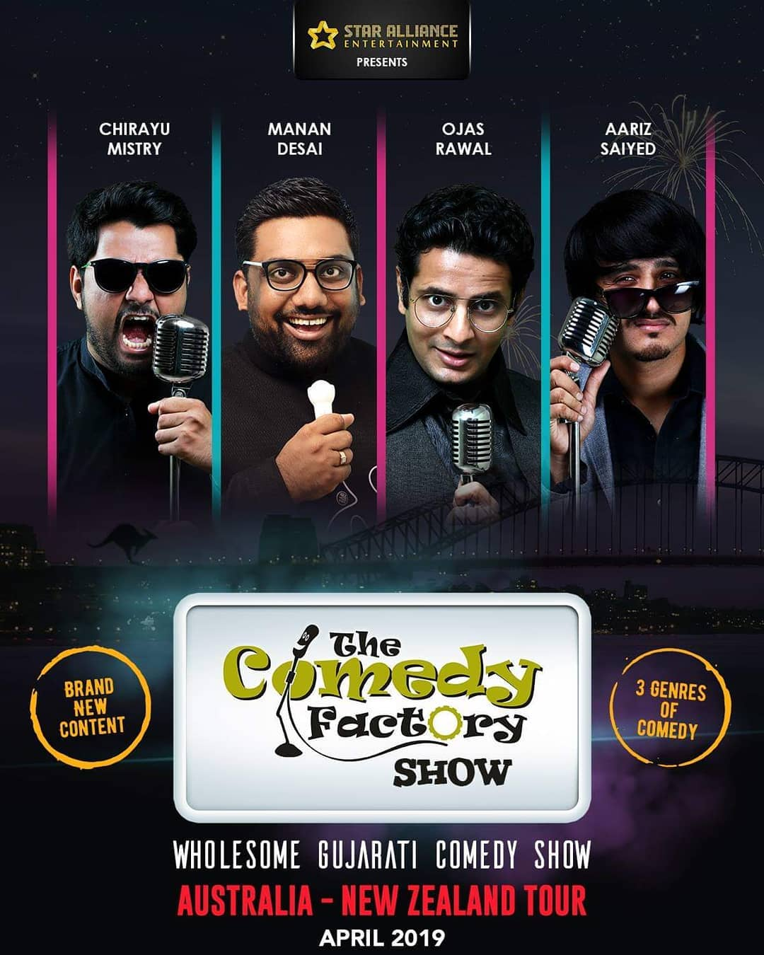 If you want to promote or sponsor or organize or book our show for your city during our Australia or New Zealand then Please get in touch with @bablu21  Happy New Year  #thecomedyfactory #AustraliaTour #NewZealandTour