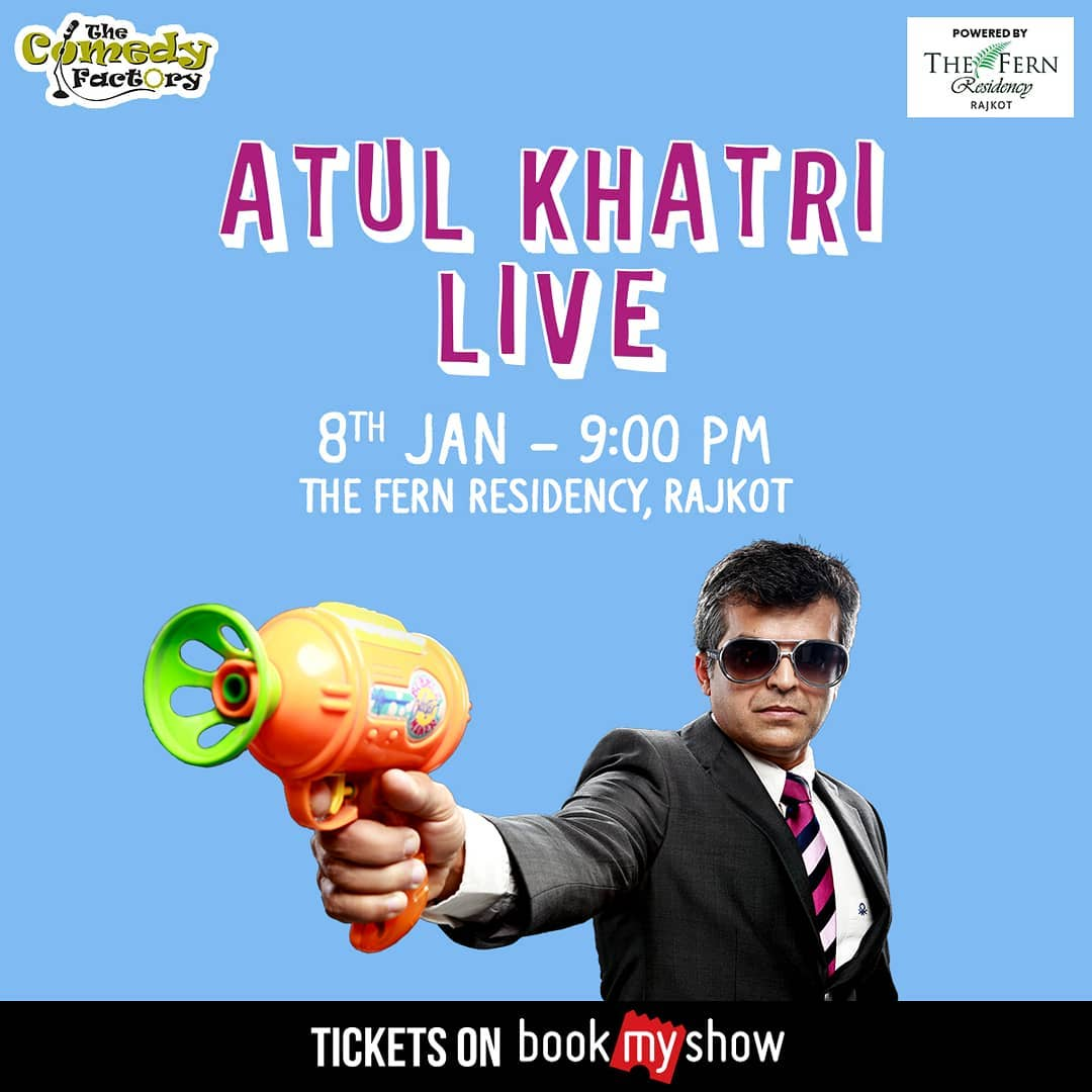 After Netflix special release, @one_by_two is performing in Rajkot tomorrow. #AavtiRehje