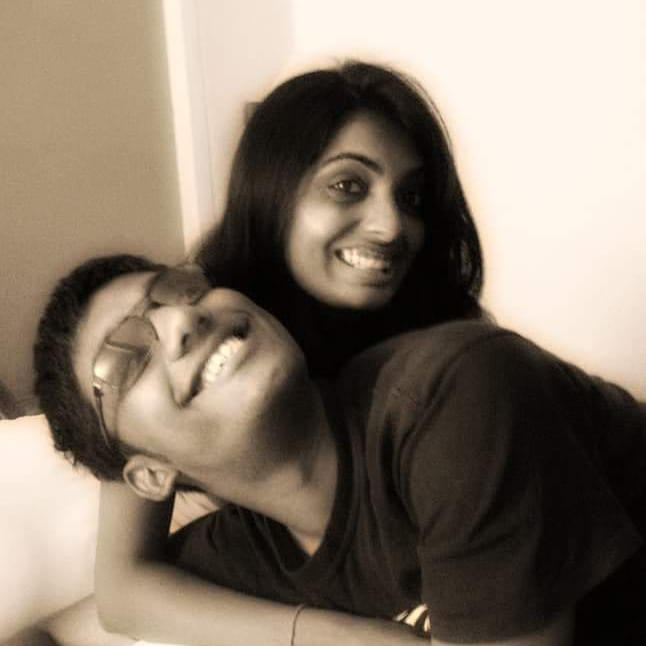Valentine since 2009. @vidya_mdesai  #10yearschallenge #ThrowbackThursday